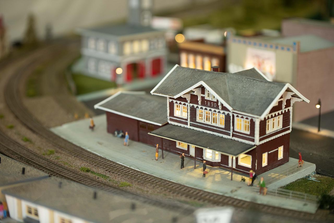 železniční stanice