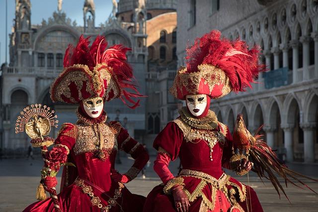 benátky karneval