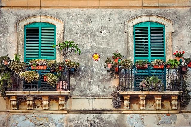 klasické balkony