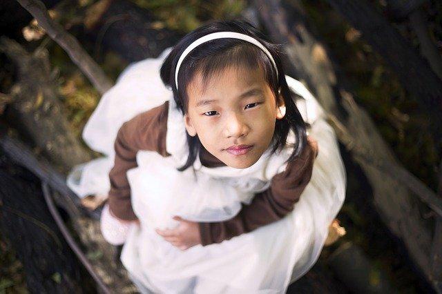 čínská holčička