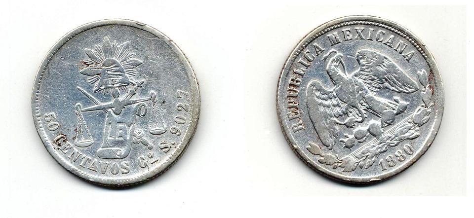 mexické mince